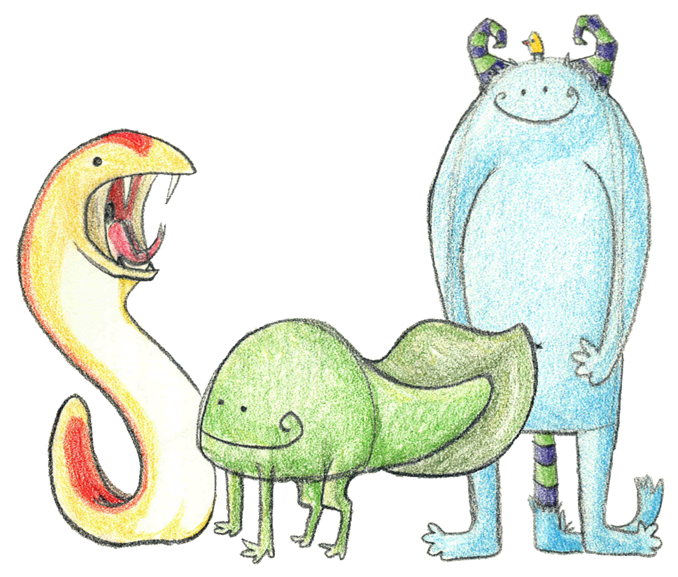Cute Monster Doodles Monster doodles by brooksle