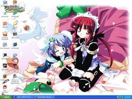 Cute Girls Wallpaper by DRei-chan