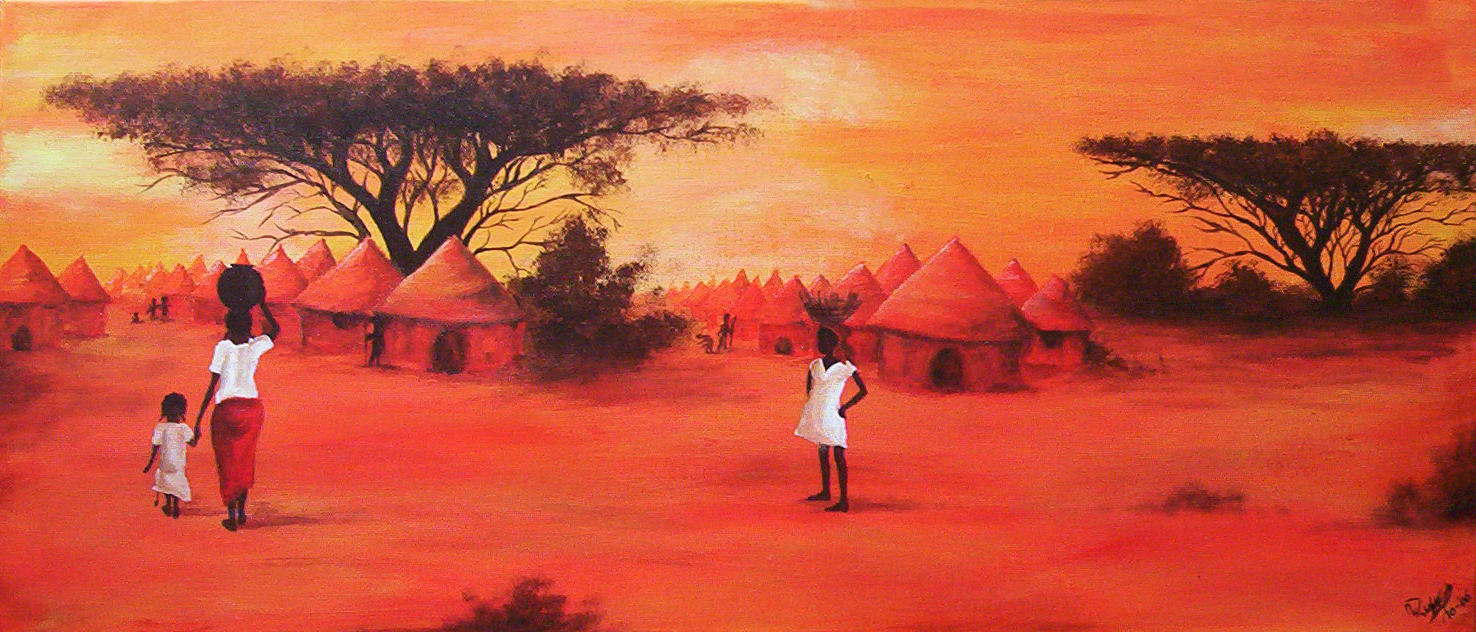 African painting by ArwenEvenstar16 on DeviantArt