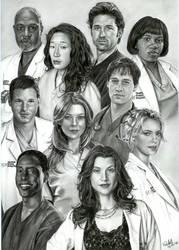 Grey's Anatomy by ArwenEvenstar16