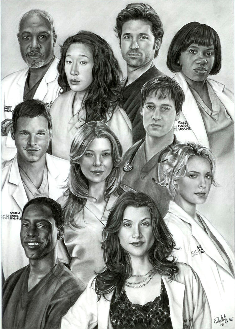 Grey\'s Anatomy by ArwenEvenstar16 on DeviantArt