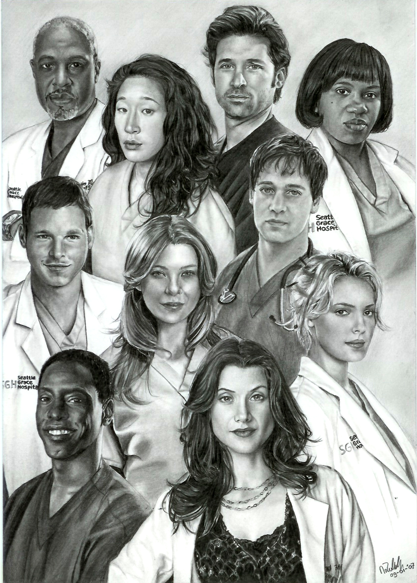 Drawing Lines Grey S Anatomy : Grey s anatomy by arwenevenstar on deviantart