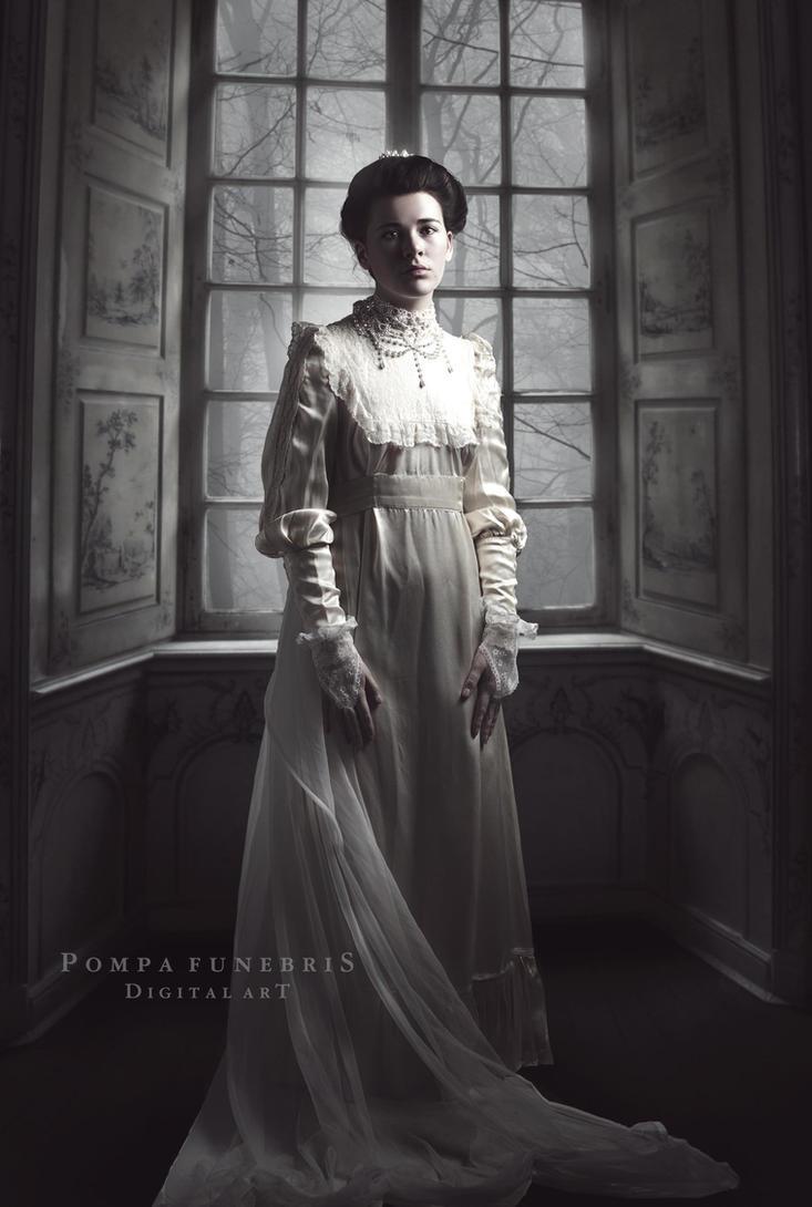 The Bride by pompafunebris