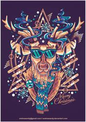x-mas deer