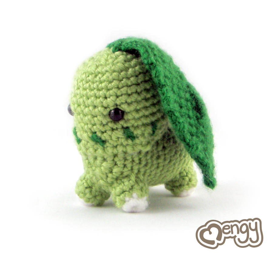 Chikorita Pokemon Amigurumi by mengymenagerie on DeviantArt