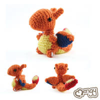 Charizard Amigurumi by mengymenagerie