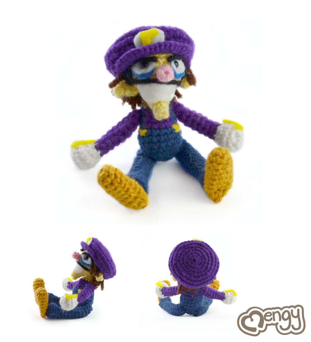 Amigurumi Mario Y Luigi : Waluigi Crochet Amigurumi by mengymenagerie on DeviantArt