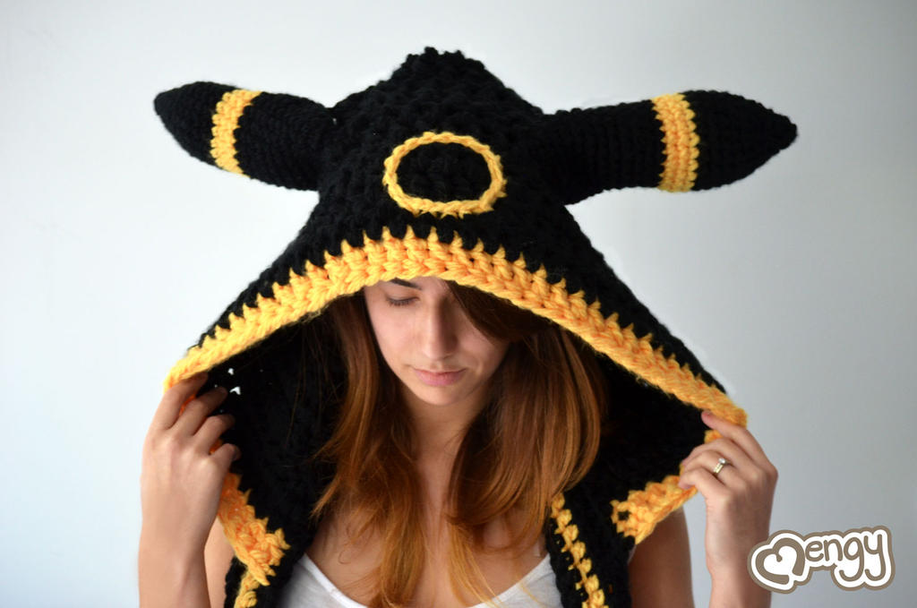 Crochet Umbreon : Umbreon Scoodie by mengymenagerie on DeviantArt