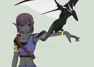 Mylaela and Daenerys by SakuraIsDeidarasGirl