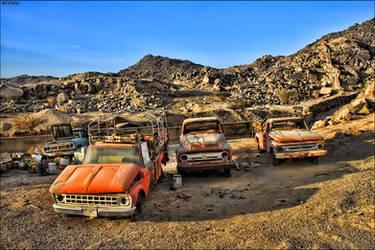 old sad cars by fahad8702
