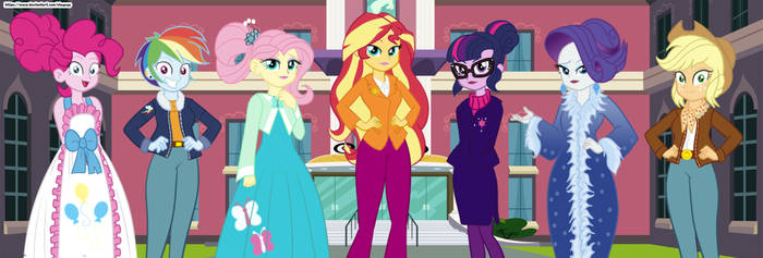 Class reunion (Thanks Equestria Girls)