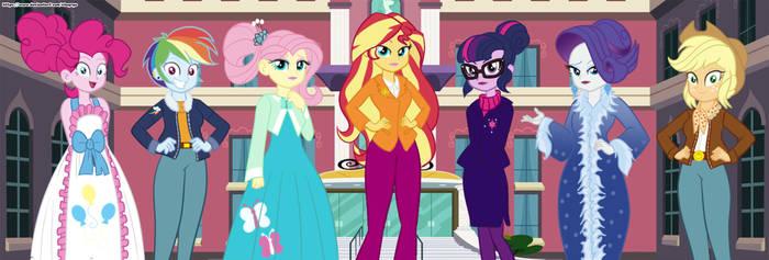 Class reunion (Thanks Equestria Girls)