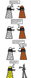 The Daleks are the masters of humour by HyrAyl