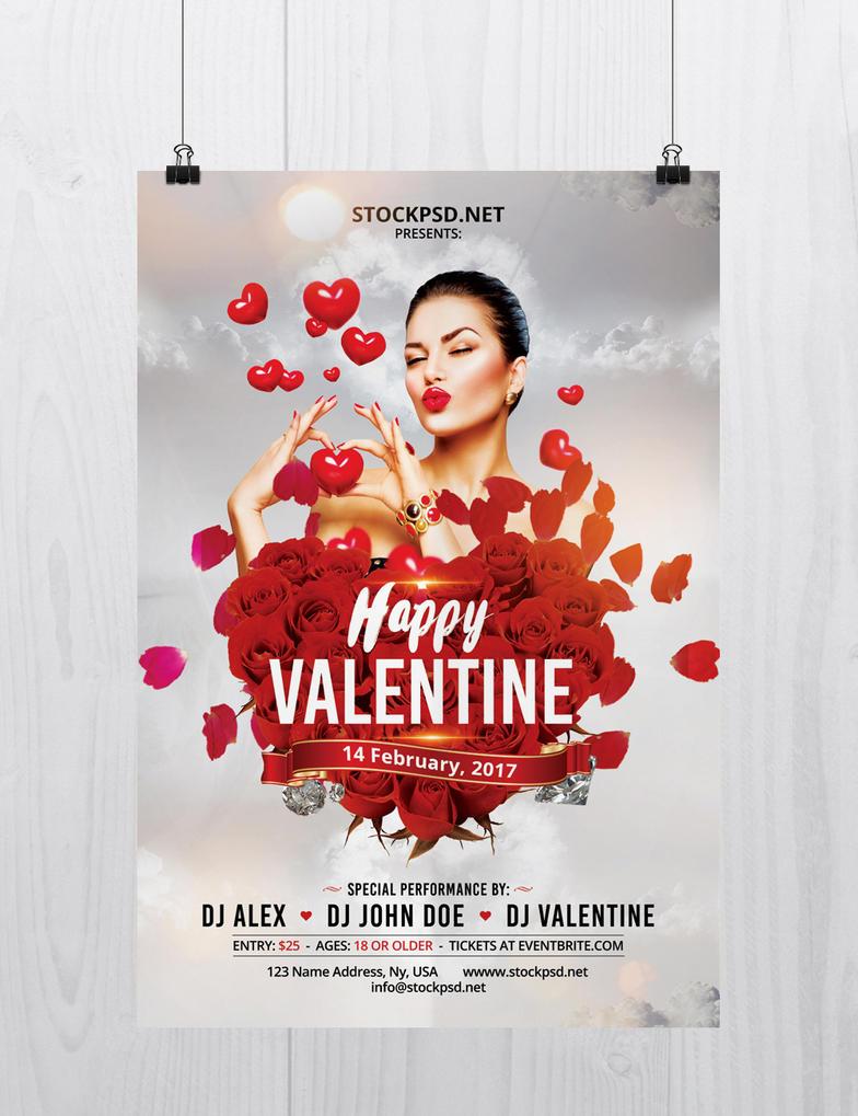 Happy-valentine-day-free-flyer-psd-template by stockpsd on DeviantArt