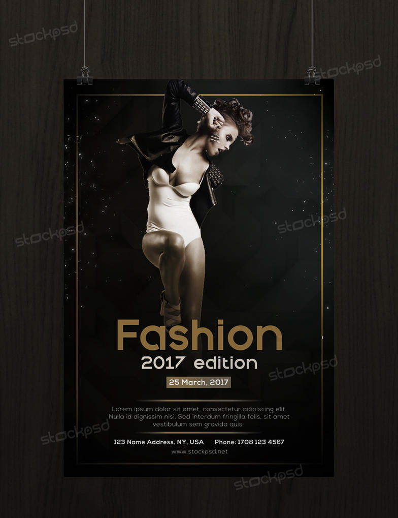 Fashion 2017 edition free psd flyer template by stockpsd on deviantart fashion 2017 edition free psd flyer template by stockpsd maxwellsz