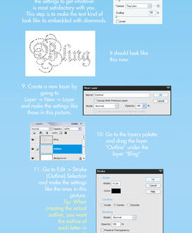 Bling Tutorial by blasianonna