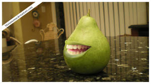 The Biting Pear of Countertop