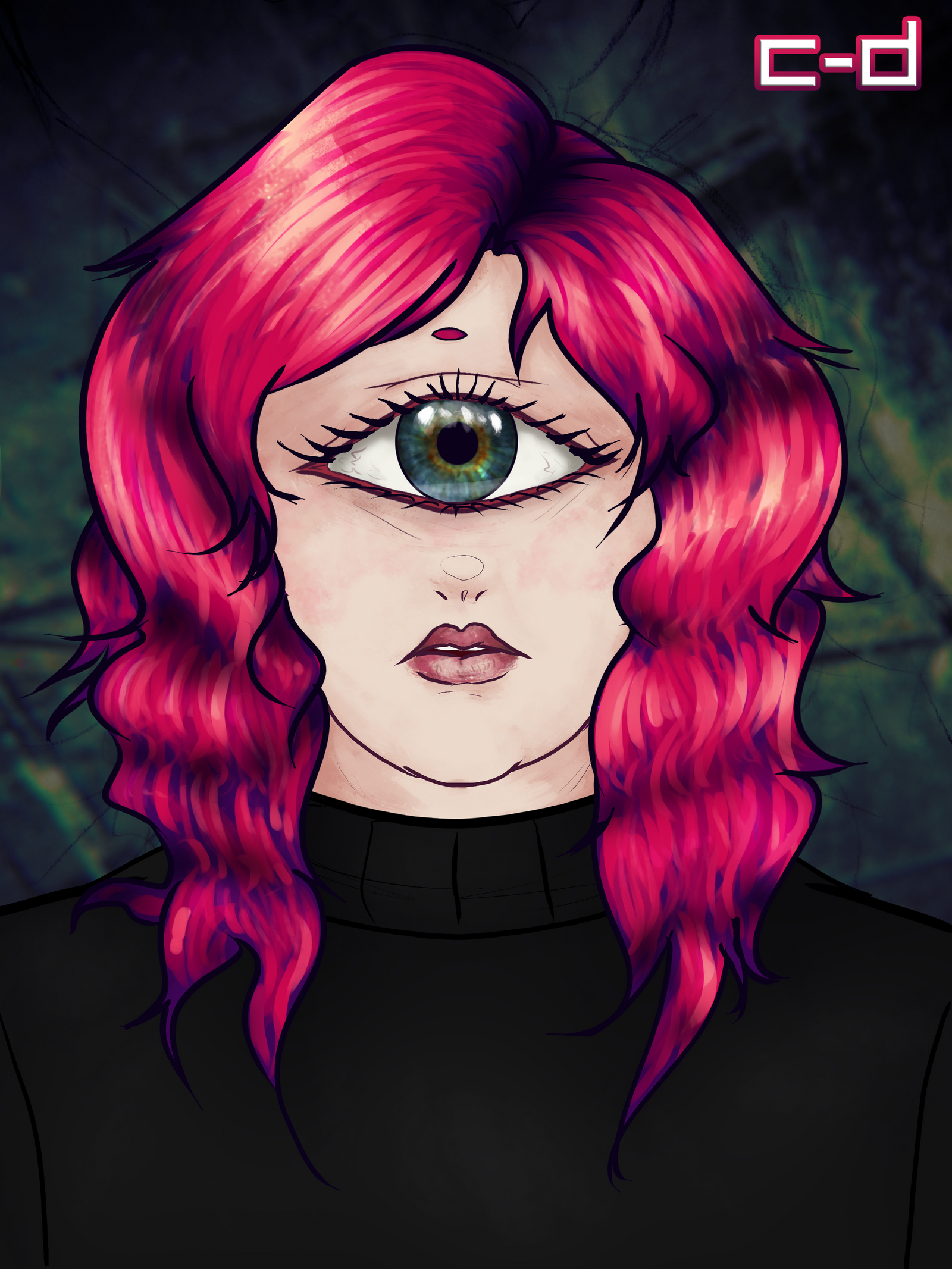 one-eyed wonder by cosmogyral-delirium