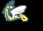Dunsparce Evolution - Czarsparce