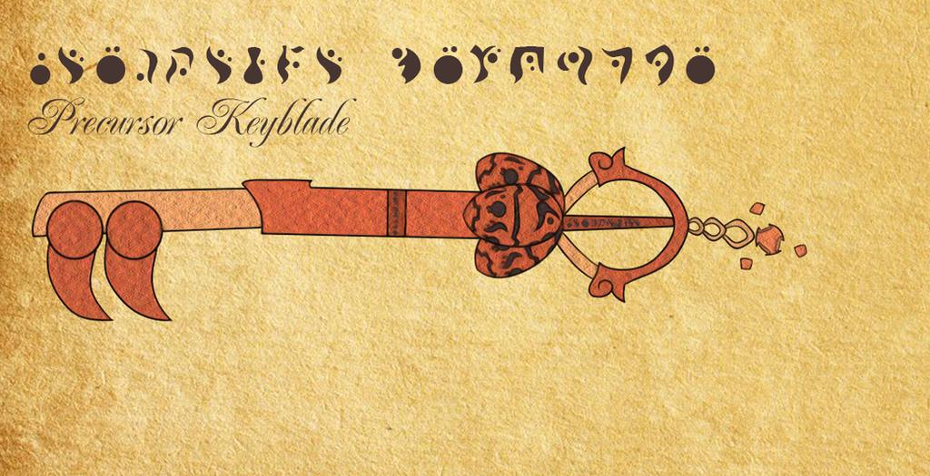 Jak and Daxter Keyblade by Du-Loch
