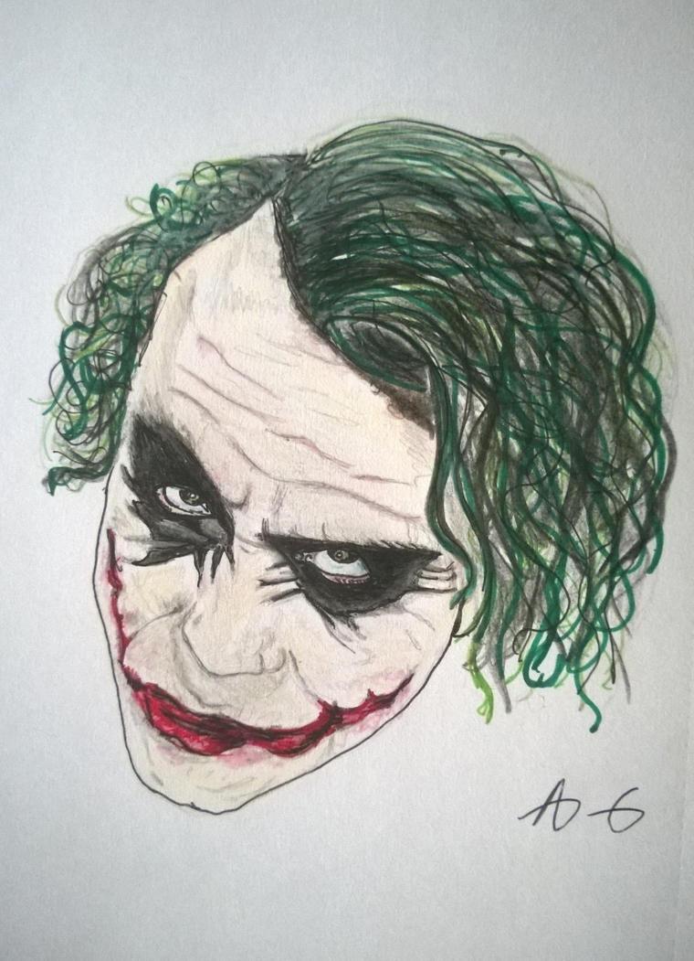 96 Joker Face Drawing Joker Face Drawing