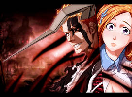 ichihime - Bleach coloring by MohameDZero3