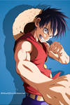 Luffy Yusuke Murata style