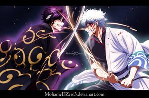 Gintoki vs Takasugi by MohameDZero3