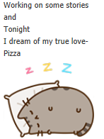 Day 43: My to do list- Pusheen and AJ by ajguy93
