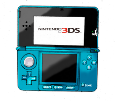 Nintendo 3DS by SpazJackrabbit1