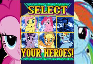 Choose Your Pony by SpazJackrabbit1