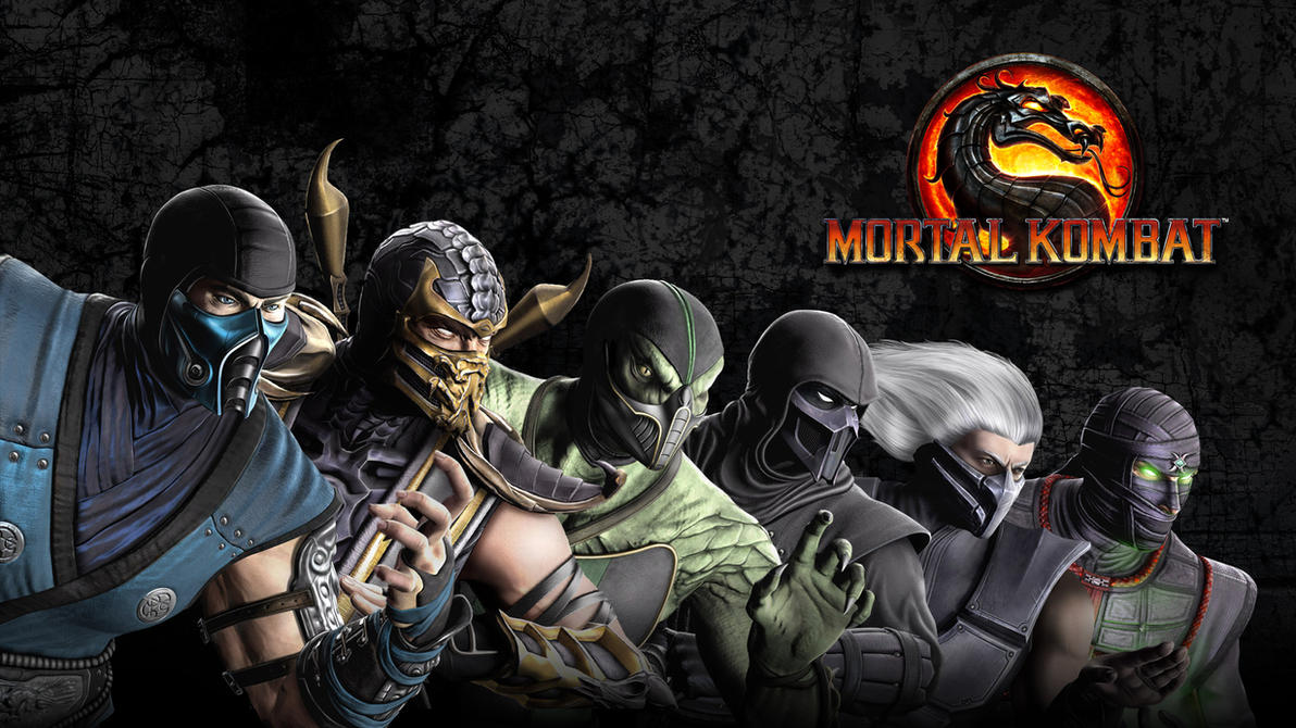 mortal kombat ninja wallpaperposer96 on deviantart