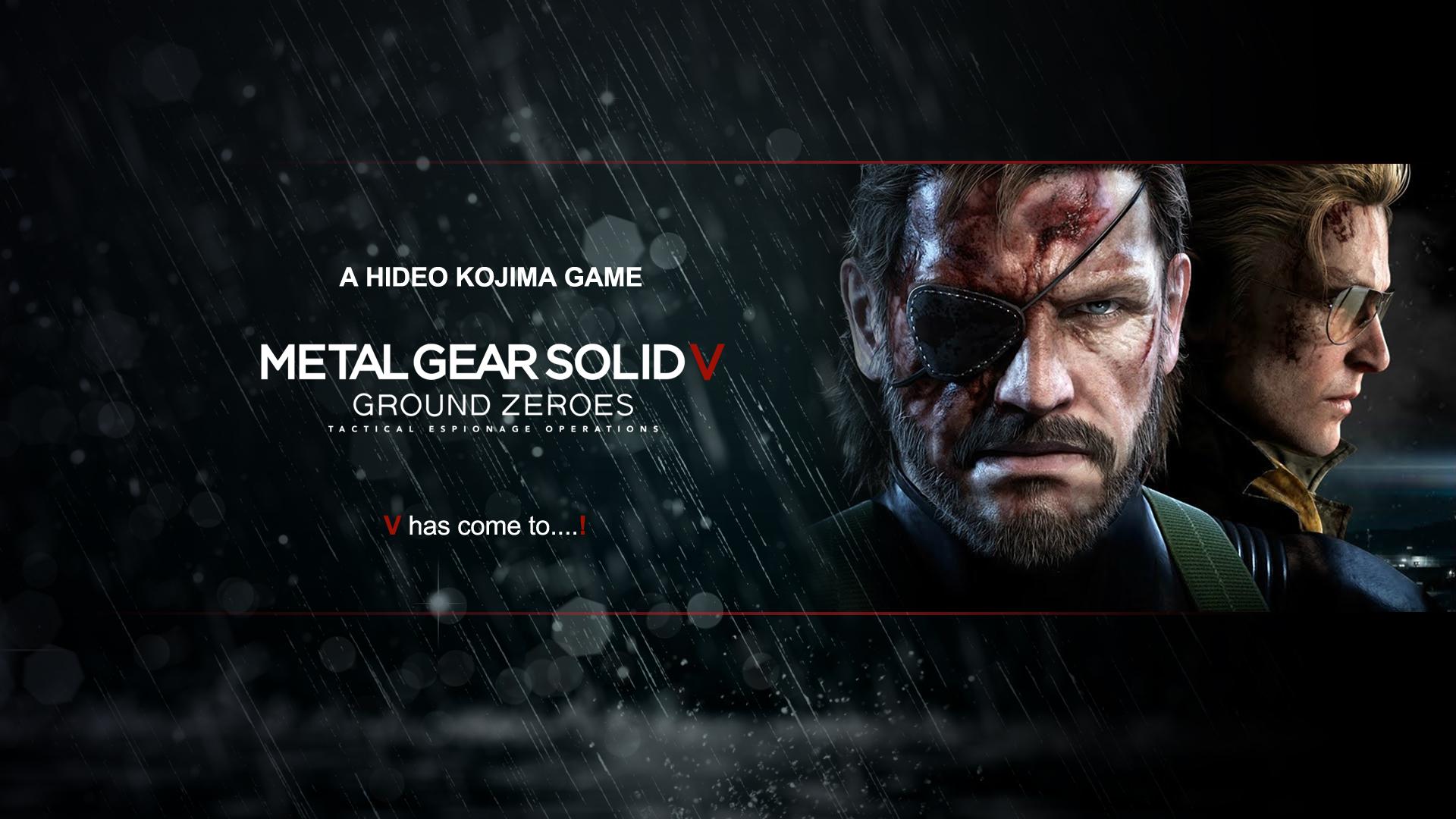 Metal Gear Solid V Wallpaper: Wallpaper 002 By Poser96 On DeviantArt