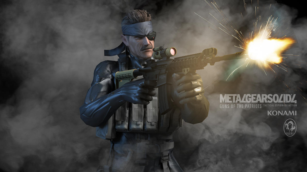 MGS4 Render by Poser96