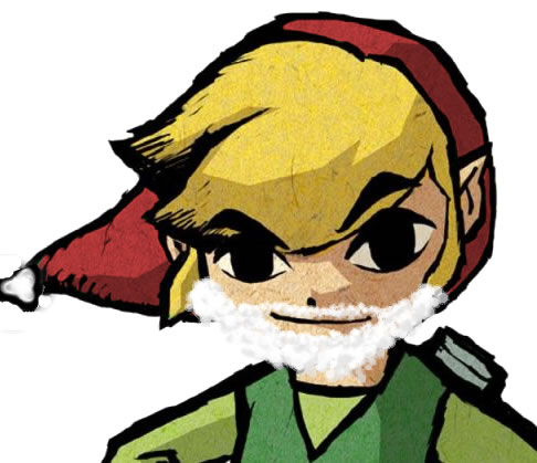 Toon Link christmas by Kenyung on DeviantArt