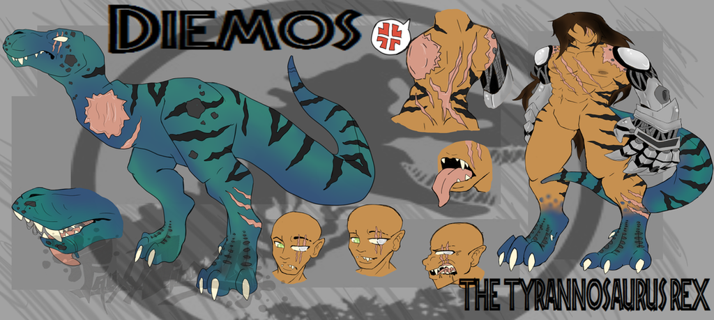 Diemos JW_Rex by FauxyDingo92