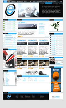 Control-eSports.com Design