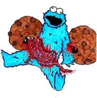 Cookie Monster by Gagoterapia