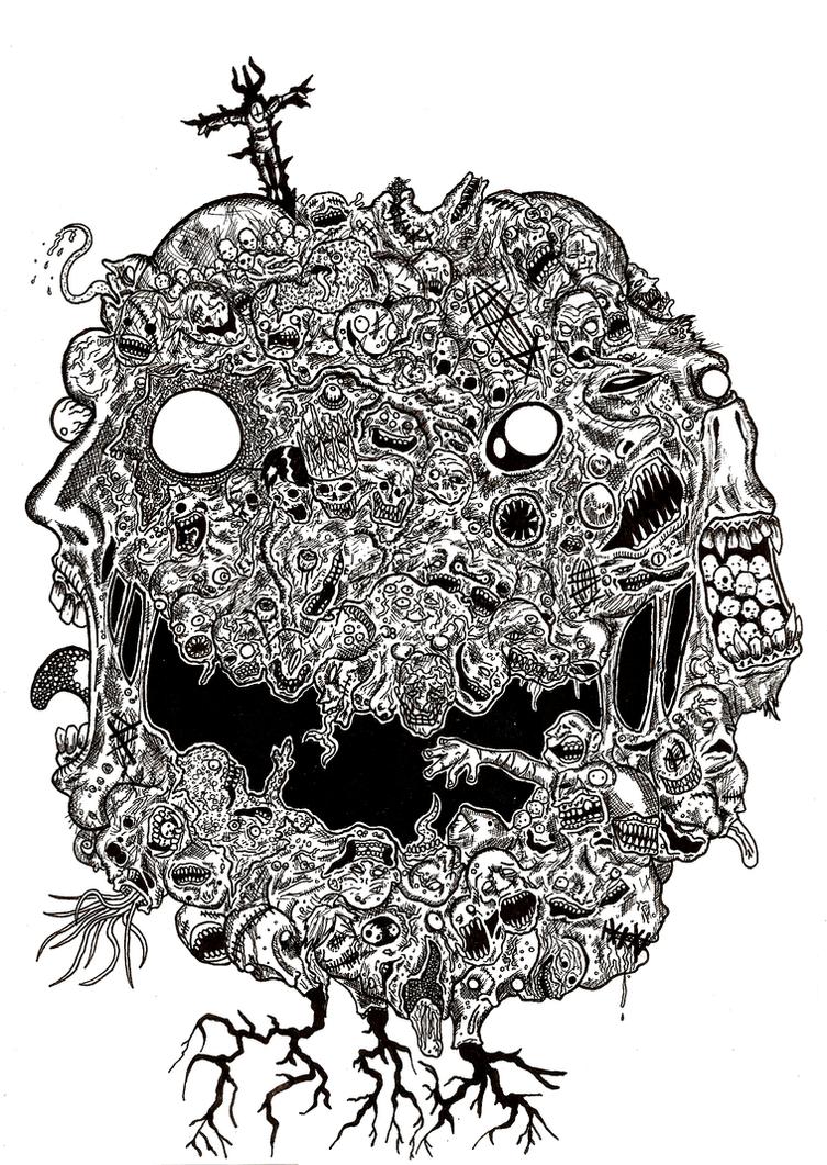 Ese Horrible Monstruo Que Es La Humanidad by Gagoterapia