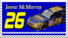 Jamie McMurray Stamp by nascarstones