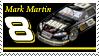 Mark Martin Stamp by nascarstones