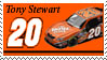 Tony Stewart Stamp by nascarstones