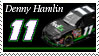 Denny Hamlin Stamp 'Ground' by nascarstones