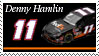 Denny Hamlin Stamp 'FedEx' by nascarstones
