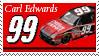 Carl Edwards Stamp by nascarstones