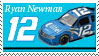 Ryan Newman Stamp by nascarstones