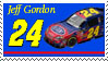 Jeff Gordon Stamp by nascarstones