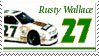 Rusty Wallace Stamp by nascarstones