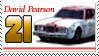 David Pearson Stamp by nascarstones