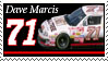 Dave Marcis Stamp by nascarstones